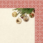 Kaisercraft - Silent Night Collection - Christmas - 12 x 12 Double Sided Paper - Fill the Stockings