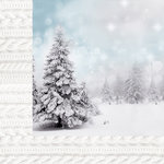 Kaisercraft - Frosted Collection - Christmas - 12 x 12 Double Sided Paper - Wintery