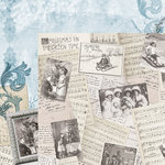 Kaisercraft - Frosted Collection - Christmas - 12 x 12 Double Sided Paper - Snowy