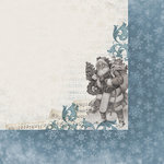 Kaisercraft - Frosted Collection - Christmas - 12 x 12 Double Sided Paper - Chilly