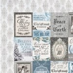 Kaisercraft - Frosted Collection - Christmas - 12 x 12 Double Sided Paper - Polar