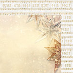 Kaisercraft - Glisten Collection - Christmas - 12 x 12 Double Sided Paper with Foil Accents - Glittering