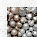 Kaisercraft - Glisten Collection - Christmas - 12 x 12 Double Sided Paper with Foil Accents - Lustrous