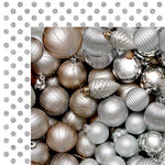 Kaisercraft - Glisten Collection - Christmas - 12 x 12 Double Sided Paper with Glitter Accents - Luminous