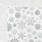 Kaisercraft - Glisten Collection - Christmas - 12 x 12 Double Sided Paper with Glitter Accents - Shimmering