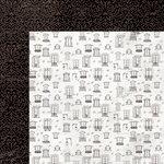 Kaisercraft - Ooh La La Collection - 12 x 12 Double Sided Paper - Merci