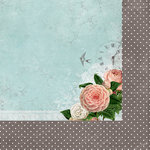 Kaisercraft - Ooh La La Collection - 12 x 12 Double Sided Paper - L'amour