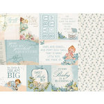 Kaisercraft - Peek-A-Boo Collection - 12 x 12 Double Sided Paper - Cherub