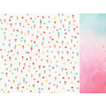 Kaisercraft - Party Time Collection - 12 x 12 Double Sided Paper - Double Scoop