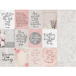 Kaisercraft - P.S. I Love You Collection - 12 x 12 Double Sided Paper - Fondness
