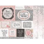 Kaisercraft - P.S. I Love You Collection - 12 x 12 Double Sided Paper - Valentines