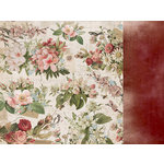 Kaisercraft - Cherry Tree Lane Collection - 12 x 12 Double Sided Paper - Telegraph