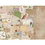 Kaisercraft - Cherry Tree Lane Collection - 12 x 12 Double Sided Paper - Correspondence