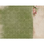 Kaisercraft - Cherry Tree Lane Collection - 12 x 12 Double Sided Paper - Handwritten
