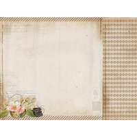 Kaisercraft - Cherry Tree Lane Collection - 12 x 12 Double Sided Paper - Type