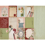 Kaisercraft - Cherry Tree Lane Collection - 12 x 12 Double Sided Paper - Postcards
