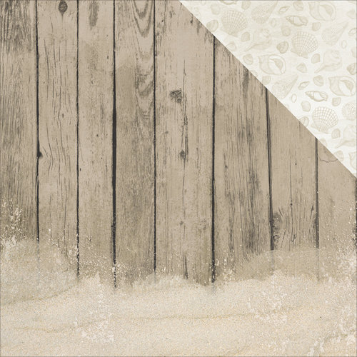 Kaisercraft - Island Escape Collection - 12 x 12 Double Sided Paper - Driftwood