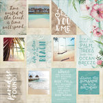 Kaisercraft - Island Escape Collection - 12 x 12 Double Sided Paper - Ohana