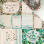 Kaisercraft - Island Escape Collection - 12 x 12 Double Sided Paper - Kahakai