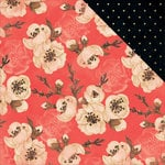 Kaisercraft - Hanami Garden Collection - 12 x 12 Double Sided Paper - Mokuren