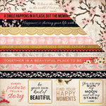 Kaisercraft - Hanami Garden Collection - 12 x 12 Double Sided Paper - Hoshi