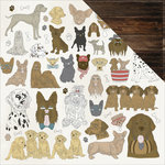 Kaisercraft - Pawfect Collection - 12 x 12 Double Sided Paper - Dogs