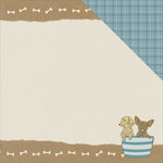 Kaisercraft - Pawfect Collection - 12 x 12 Double Sided Paper - Puppy