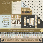 Kaisercraft - Pawfect Collection - 12 x 12 Double Sided Paper - Purr