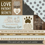 Kaisercraft - Pawfect Collection - 12 x 12 Double Sided Paper - Ruff