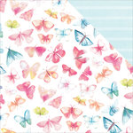 Kaisercraft - Wildflower Collection - 12 x 12 Double Sided Paper - Wings