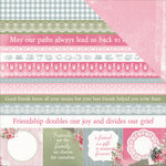 Kaisercraft - High Tea Collection - 12 x 12 Double Sided Paper - Shortcake