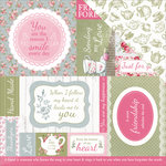 Kaisercraft - High Tea Collection - 12 x 12 Double Sided Paper - Scones