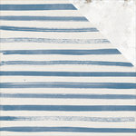 Kaisercraft - Indigo Skies Collection - 12 x 12 Double Sided Paper - Shibori