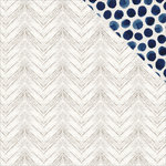 Kaisercraft - Indigo Skies Collection - 12 x 12 Double Sided Paper - Washed Out