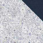 Kaisercraft - Indigo Skies Collection - 12 x 12 Double Sided Paper - Midnight