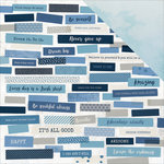 Kaisercraft - Indigo Skies Collection - 12 x 12 Double Sided Paper - Breeze