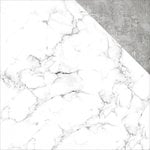 Kaisercraft - Basecoat 4 Collection - 12 x 12 Double Sided Paper - White Marble