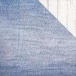 Kaisercraft - Basecoat 4 Collection - 12 x 12 Double Sided Paper - Jeans