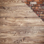 Kaisercraft - Basecoat 4 Collection - 12 x 12 Double Sided Paper - Knotted Wood