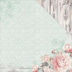 Kaisercraft - Sage and Grace Collection - 12 x 12 Double Sided Paper - Shabby Chic