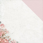 Kaisercraft - Sage and Grace Collection - 12 x 12 Double Sided Paper - Pink Peony