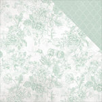 Kaisercraft - Sage and Grace Collection - 12 x 12 Double Sided Paper - Mint