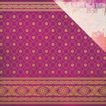 Kaisercraft - Bombay Sunset Collection - 12 x 12 Double Sided Paper - Sari