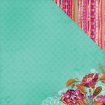 Kaisercraft - Bombay Sunset Collection - 12 x 12 Double Sided Paper - Mumbai
