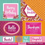 Kaisercraft - Bombay Sunset Collection - 12 x 12 Double Sided Paper - Party