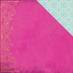Kaisercraft - Bombay Sunset Collection - 12 x 12 Double Sided Paper - Music