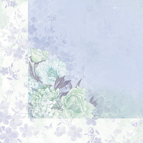 Kaisercraft - Lilac Whisper Collection - 12 x 12 Double Sided Paper - Illusion