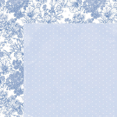 Kaisercraft - Lilac Whisper Collection - 12 x 12 Double Sided Paper - Opal
