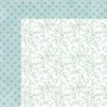 Kaisercraft - Lilac Whisper Collection - 12 x 12 Double Sided Paper - Mist