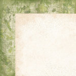 Kaisercraft - Golden Grove Collection - 12 x 12 Double Sided Paper - Greenery